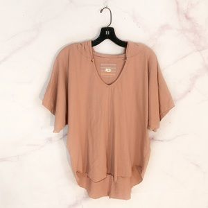 Anthropologie T.la Hooded Tee